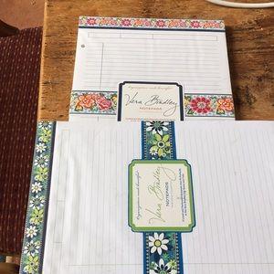 Vera Bradley note pads